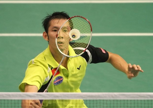 Badminton player loses in semi-finals of US Open hinh anh 1