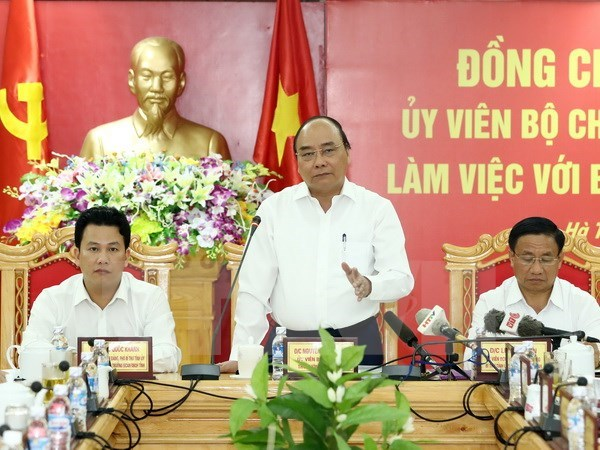 PM asks Ha Tinh to become major industrial centre hinh anh 1