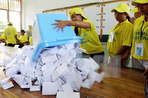 Timor Leste announces parliamentary election results hinh anh 1