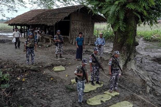 Myanmar arrests 31 terrorist suspects hinh anh 1
