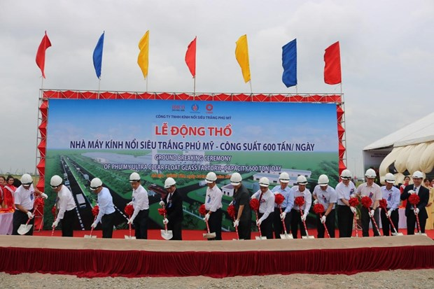 Vietnam's first ultra-clear float glass factory built hinh anh 1