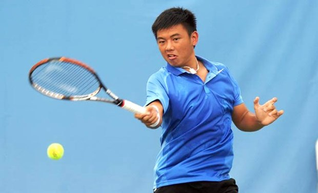 Ly Hoang Nam is Southeast Asia's No 1 tennis player hinh anh 1