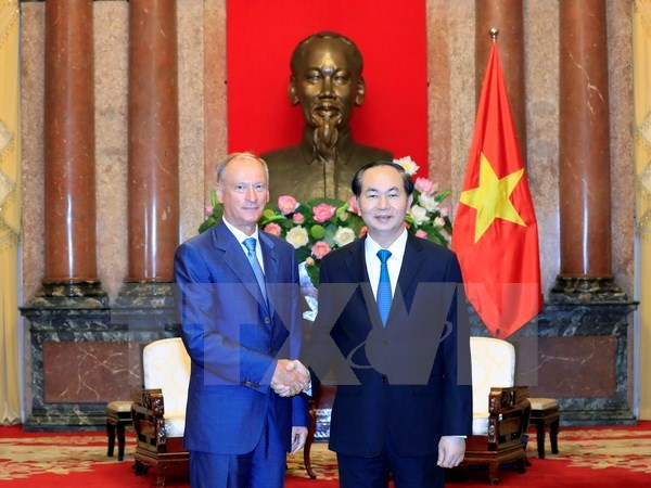 President welcomes Russia Security Council leader hinh anh 1