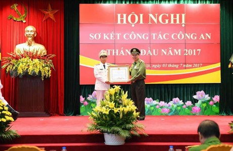 Public security ministry reviews July operation hinh anh 1