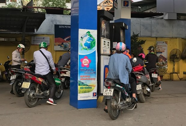 Green tax hike on petrol to go ahead hinh anh 1
