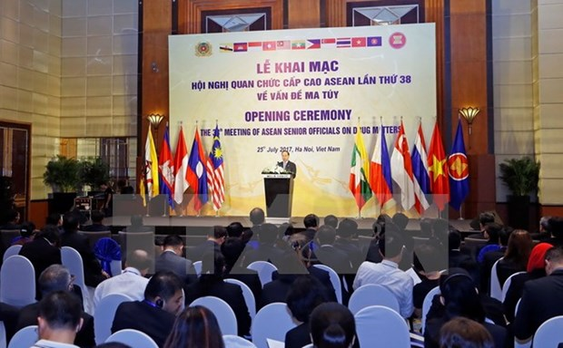 ASEAN works to realise target of drug-free community hinh anh 1