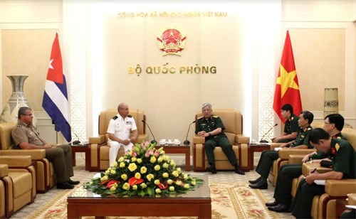 Vietnam, Cuba deepen defence cooperation hinh anh 1