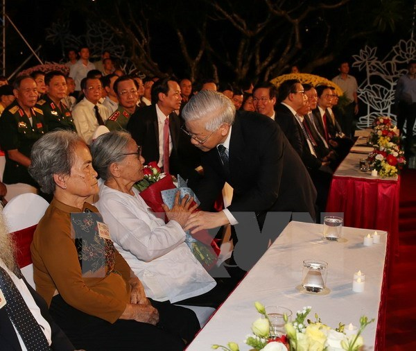 Live television programme marks War Invalids and Martyrs Day hinh anh 1