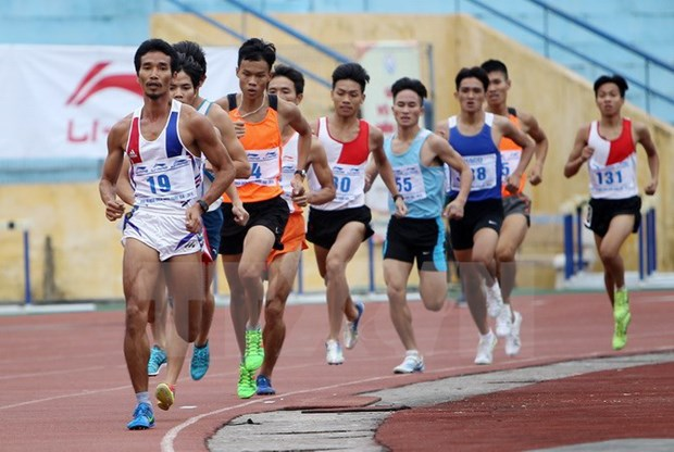 Int'l track and field tourney opens in HCM City hinh anh 1
