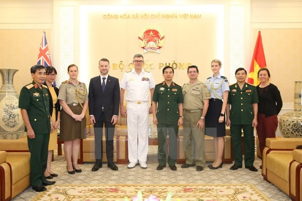 Deputy Defence Minister meets Vice Chief of Australia's Defense Force hinh anh 1