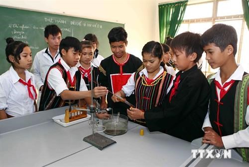 Central Highlands strives to improve school facilities hinh anh 1