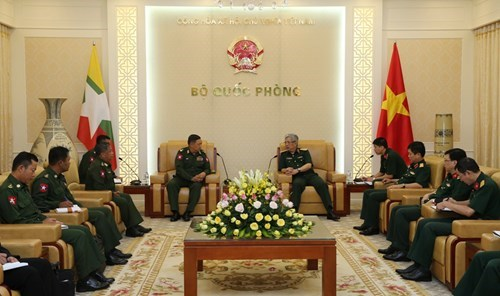 Vietnam, Myanmar boost realisation of defence cooperation MoU hinh anh 1