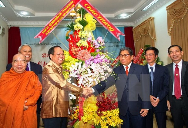 HCM City, Vientiane agree to foster cooperation hinh anh 1
