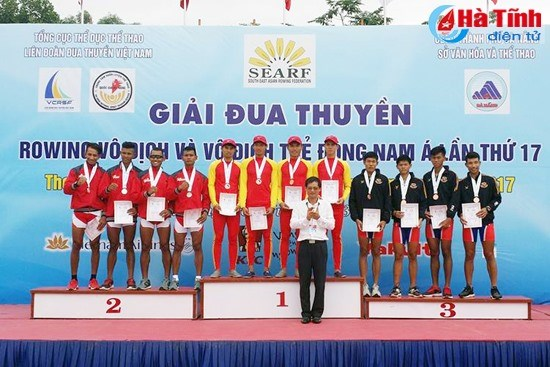 Vietnam No 1 rowers in ASEAN hinh anh 1