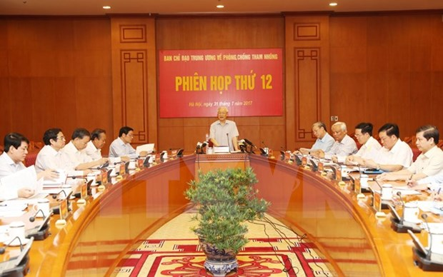 Central committee orders faster settlement of major corruption cases hinh anh 1