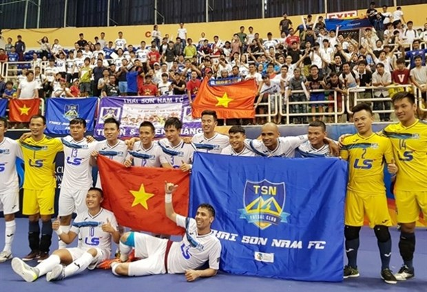Vietnamese club finish third in futsal tourney hinh anh 1