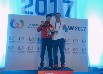 Vietnamese wins World Games' muay championship title hinh anh 1