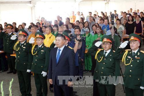 War Invalids and Martyrs Day marked in Germany hinh anh 1