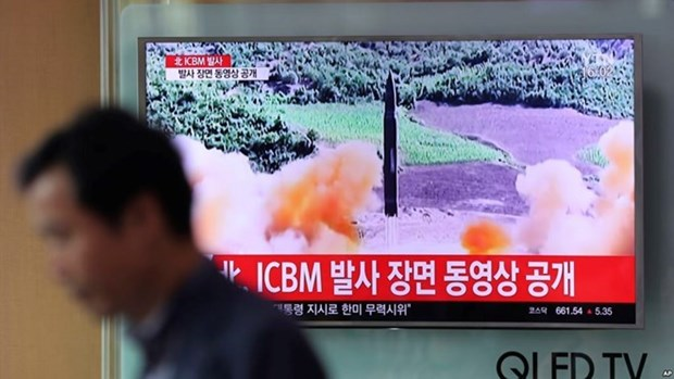 FM spokesperson: Vietnam deeply concerned about DPRK's missile launch hinh anh 1