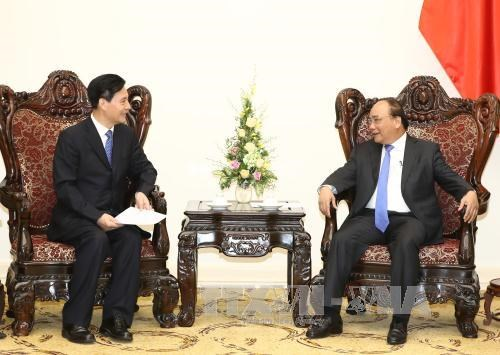 PM calls on Chinese investors to heed technology, environment hinh anh 1