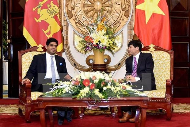 Vietnam, Sri Lanka to facilitate bilateral business activities hinh anh 1