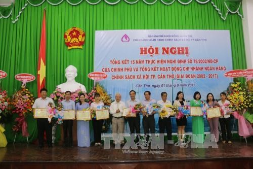 Can Tho: credit programmes help nearly 180,000 poor households hinh anh 1