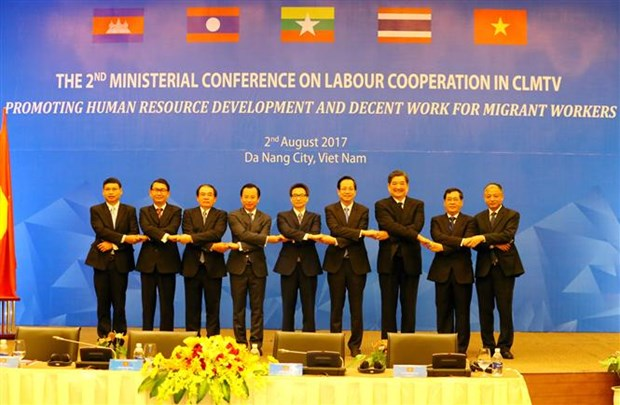 CLMTV ministers discuss guest workers affairs hinh anh 1