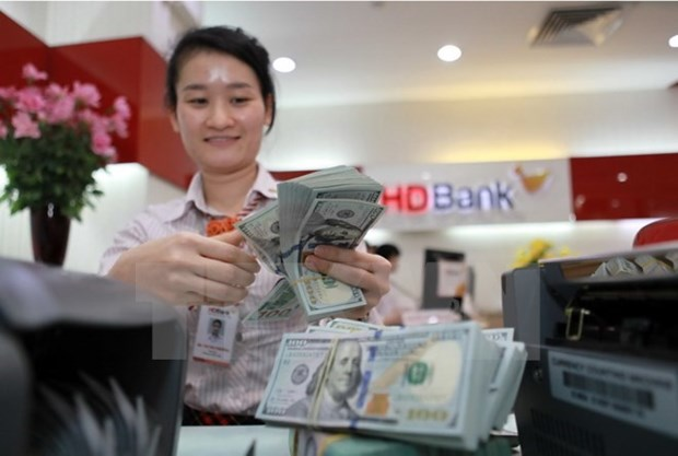 Reference exchange rate up by 1 VND hinh anh 1