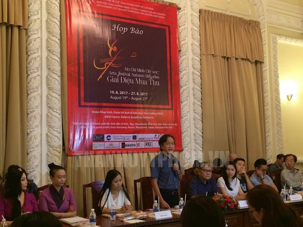 Ho Chi Minh City to be vibrant with autumn melodies hinh anh 1