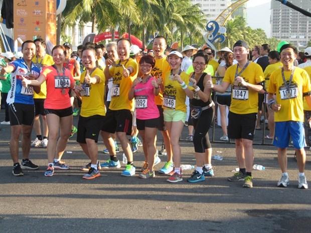 Marathoners to race along coast track in Da Nang hinh anh 1