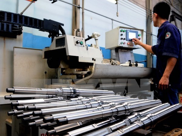 Industrial index up 6.5 percent in seven months hinh anh 1