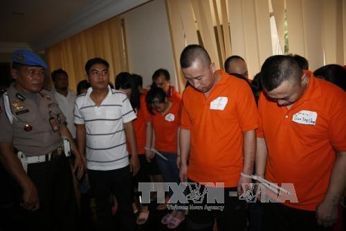 Cambodia, Indonesia crack down on cyber-crime gangs hinh anh 1