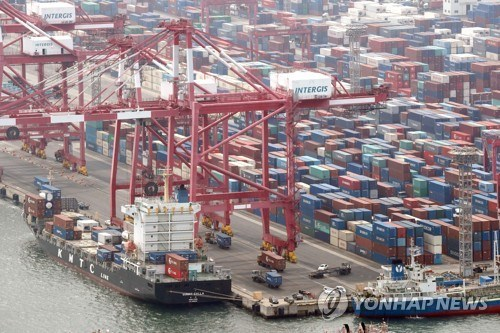 RoK's exports post double-digit increase for seven months hinh anh 1