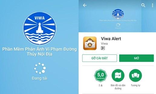 Phone app helps report waterways violations hinh anh 1