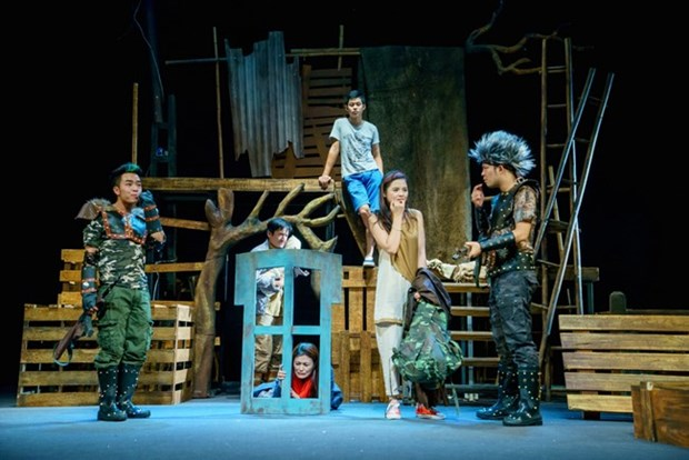 Hanoi Opera House presents a month of drama hinh anh 1