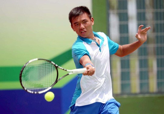 Nam enters quarter-finals of Thailand tennis event hinh anh 1