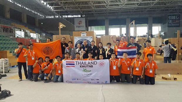 Thai students win two awards at World Robocup Rescue 2017 hinh anh 1