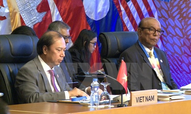 Vietnam attends ASEAN SOM and related meetings in Manila hinh anh 1