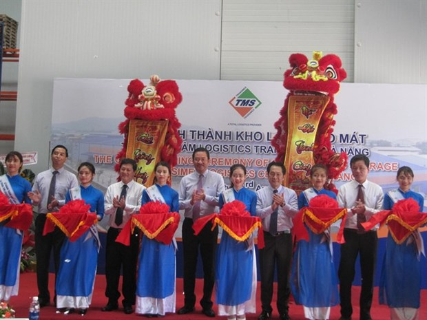 First int'l standard cold storage comes to central Vietnam hinh anh 1