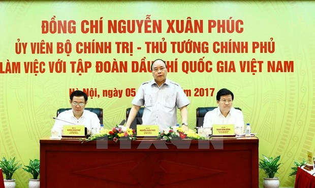 PetroVietnam produces 9.23 million tonnes of oil in seven months hinh anh 1