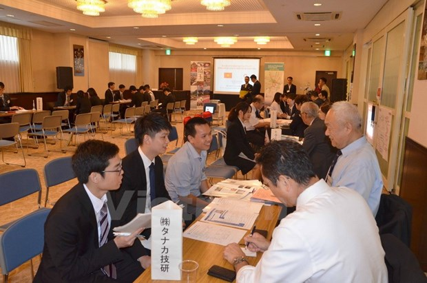 Workshop connects overseas Vietnamese students, Japanese businesses hinh anh 1
