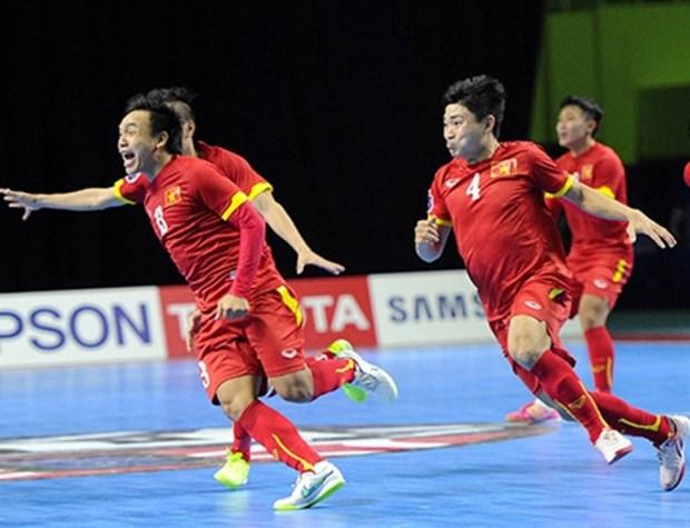 VN futsal teams to face Thailand at SEA Games hinh anh 1