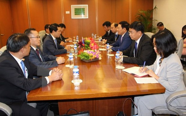 AMM 50: FM Pham Binh Minh holds bilateral meetings hinh anh 1