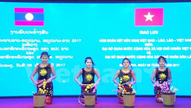 Moscow, Geneva get-togethers celebrate Vietnam-Laos diplomatic ties hinh anh 1