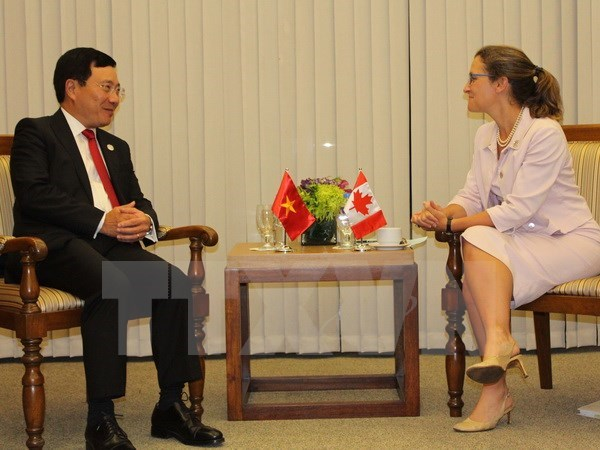 Canada supports Vietnam to cope with climate change hinh anh 1