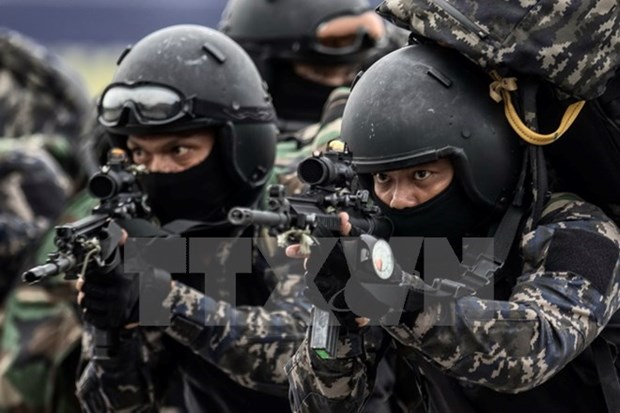 Malaysia tightens security ahead of SEA Games 29 hinh anh 1