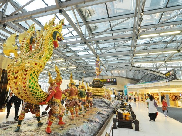 Thai airports enter top ten for on-time service hinh anh 1