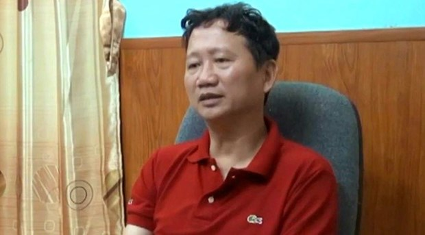 Temporary detention warrant issued for Trinh Xuan Thanh hinh anh 1