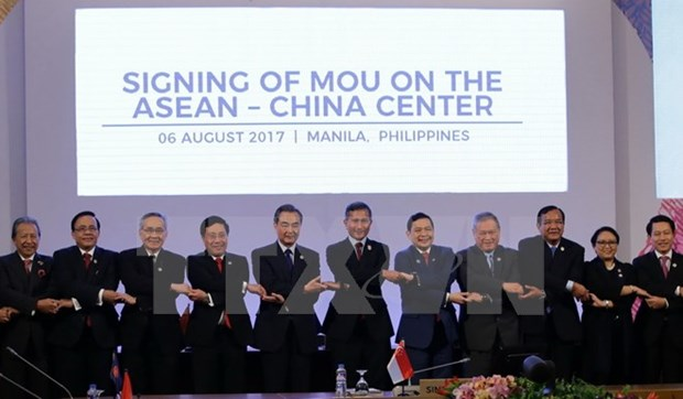 ASEAN, dialogue partners devise major cooperation orientations hinh anh 1