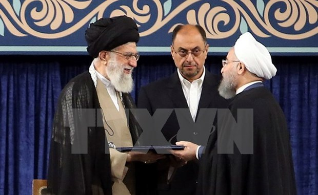 Head of Presidential Office attends Iranian President's inauguration hinh anh 1